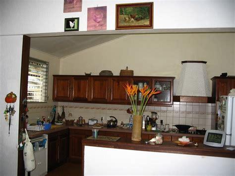 ouvrir sa cuisine dans ma cuisine en bois de guyane café créole