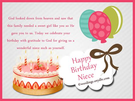 Niece Birthday Messages Happy Wishes For