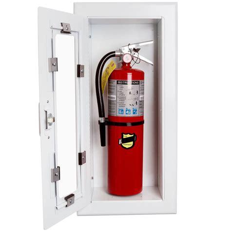strike first el116 elite semi recessed fire extinguisher