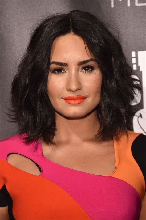 demi lovato rocker short hair latina celebrity haircuts