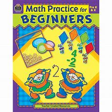 Math Practice For Beginners  Tcr3115  Teacher Created Resources