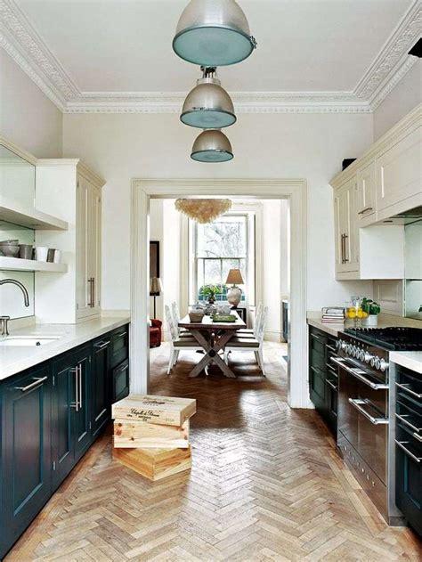 cuisine en longueur comment aménager une cuisine en longueur
