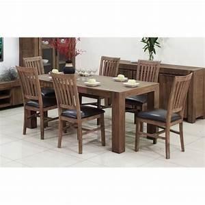 Table En Acacia : hamburg table manger 180 cm en acacia massif achat vente table salle a manger pas cher ~ Teatrodelosmanantiales.com Idées de Décoration