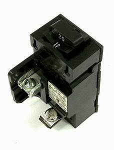 New Pushmatic Bulldog P120 20 Amp 1 Pole 120 Volt Circuit