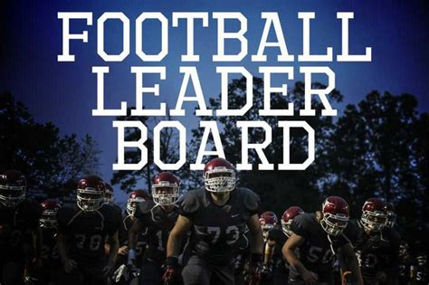 forsyth county football leaderboard forsyth news
