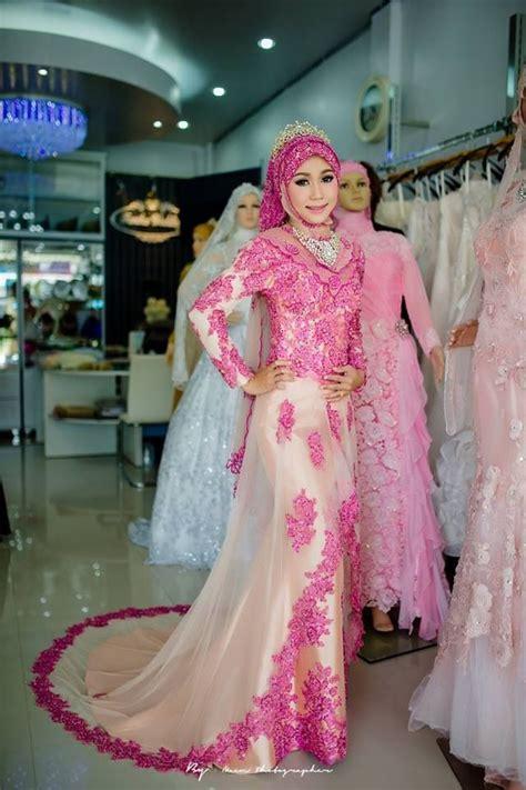 gaun pengantin kebaya muslim modern  istimewa