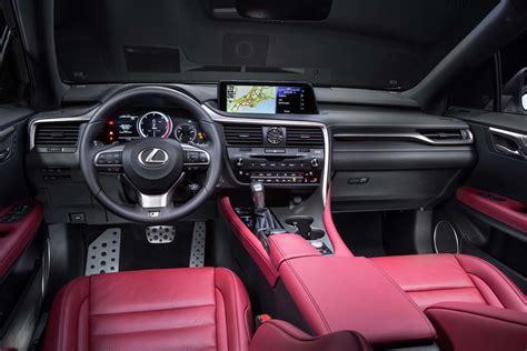 white lexus 2017 interior 2017 lexus rx 350 f sport interior motor trend