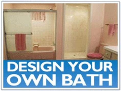 design your own bathroom design your own bath bathroom renovation ideas