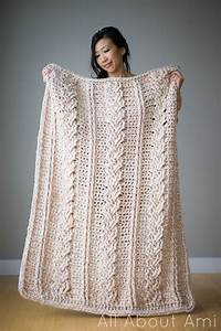 Chunky Knit Decke : chunky braided cabled blanket all about ami ~ Whattoseeinmadrid.com Haus und Dekorationen