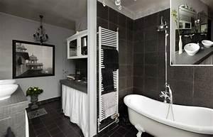jolie idee deco salle de bain moderne With idee deco pour salle de bain