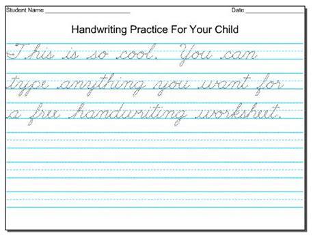 homeschool parent free handwriting printing practice