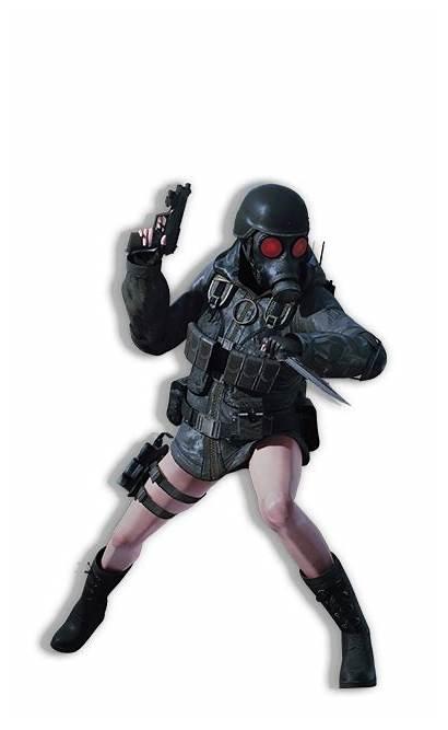 Hunk Lady Resident Evil Revelations Ooze Rachel