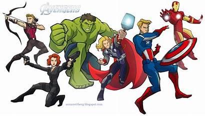 Avengers Cartoon Drawings Anna Deviantart Widow Gambar