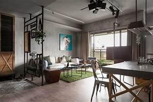 Interieur Style Industriel : appartement au style industriel et vintage ~ Melissatoandfro.com Idées de Décoration
