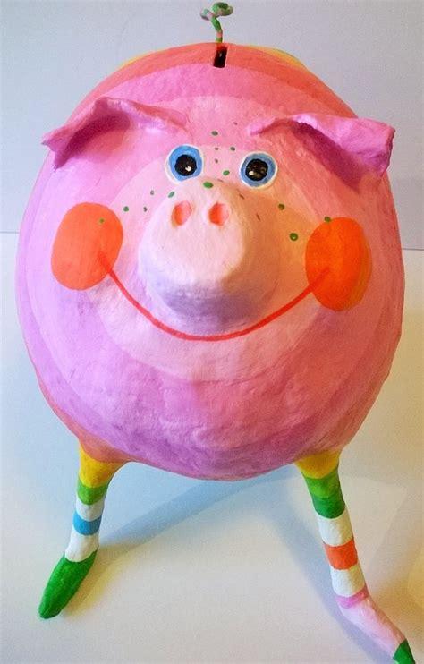 sparschwein selber basteln geldgeschenke sparschwein l ca 17cm pappmache ein