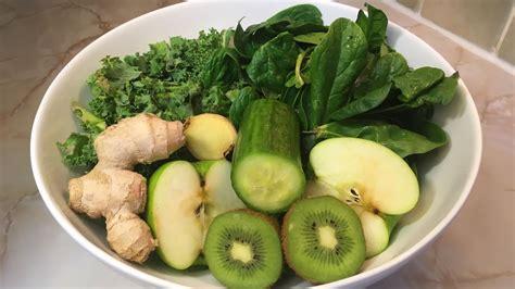 juice kale spinach spirulina