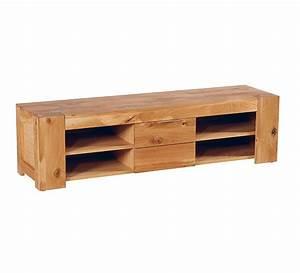 Meuble Tv En Chene : meuble tv ch ne massif brake casita 6213 ~ Teatrodelosmanantiales.com Idées de Décoration