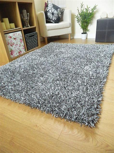 large grey rug silver grey rug shag spaghetti plain sparkle large small