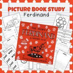 ferdinand book activities images book activities
