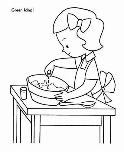 Coloring Pages Cookies Christmas Cookie Treats Baking