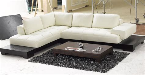 white leather sofa and chair white leather low profile sectional chaise lounge sofa bed