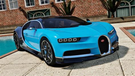 Bugatti Gta V by Bugatti Chiron Vision Tuning Add On Gta5 Mods