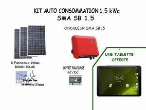 Kit Panneau Solaire Autoconsommation : kit solaire auto consommation vente en ligne ~ Premium-room.com Idées de Décoration