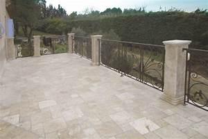 Dallage Travertin Extérieur : marbrerie arnaud pierre naturelle pour terrasse dallage ~ Edinachiropracticcenter.com Idées de Décoration