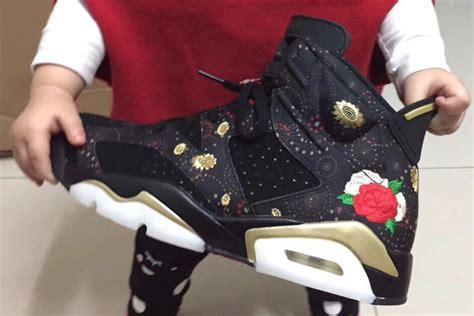 First Look At The Air Jordan 6 Retro 'chinese New Year' Weartesters
