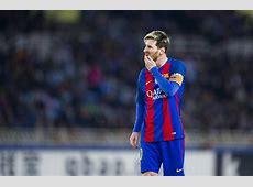 Barcelona vs Borussia Monchengladbach Lionel Messi to