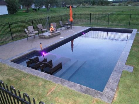 tanning ledge project traditional pool