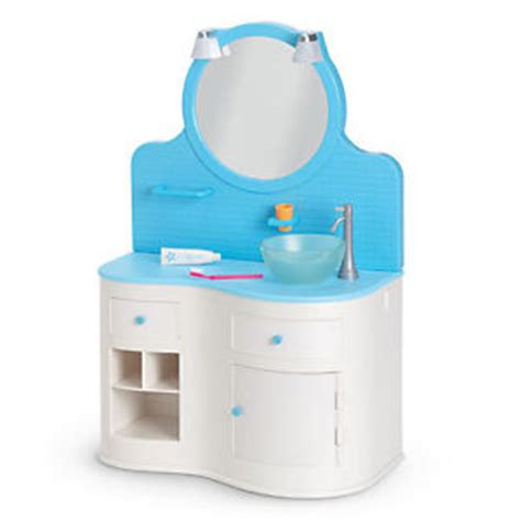american doll bathroom sink american myag bathroom vanity set furniture for doll
