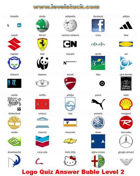 logo quiz answers level 1 2 3 4 5 6 7 8 bubble version levelstuck com