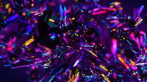 Abstract Colourful Wallpaper 4k by Wallpaper Crystals Digital Purple Abstract