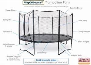 Alleyoop Trampoline Parts