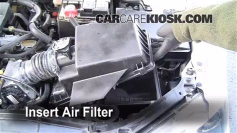 automotive air conditioning repair 2006 mazda mazda6 engine control air filter how to 2003 2008 mazda 6 2006 mazda 6 i 2 3l 4 cyl sedan 4 door