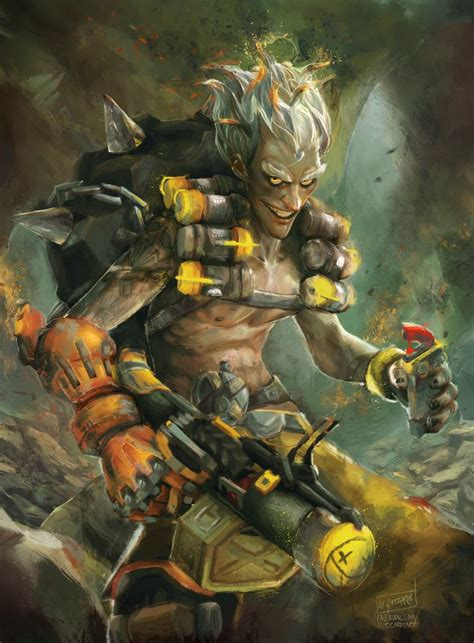 Junkrat By Guzzardi On Deviantart