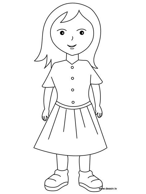 coloring girl