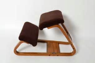 Ergonomic Kneeling Office Chair by Ergonomic Kneeling Chair Mid Century Danish Modern Bent Wood