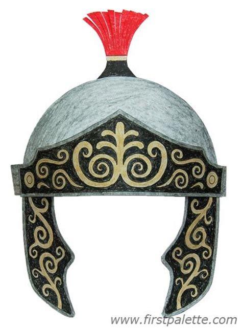 roman imperial helmet craft fun hat crafts  kids