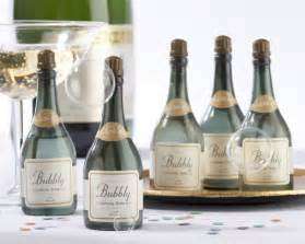 bubbles for wedding chagne bottle favors