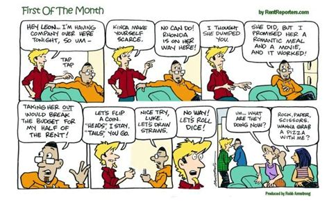 17 Best Images About First Of The Month Comic Strip From