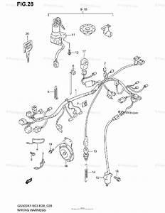Suzuki Motorcycle 2002 Oem Parts Diagram For Wiring