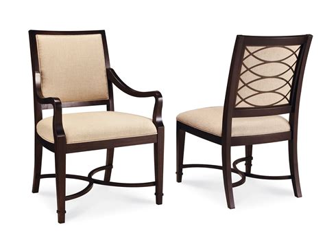 Intrigue Formal Dining Room Collection With Fabric Back