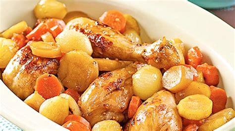 casserole de pilons de poulet aux cinq 233 pices et 233 rable