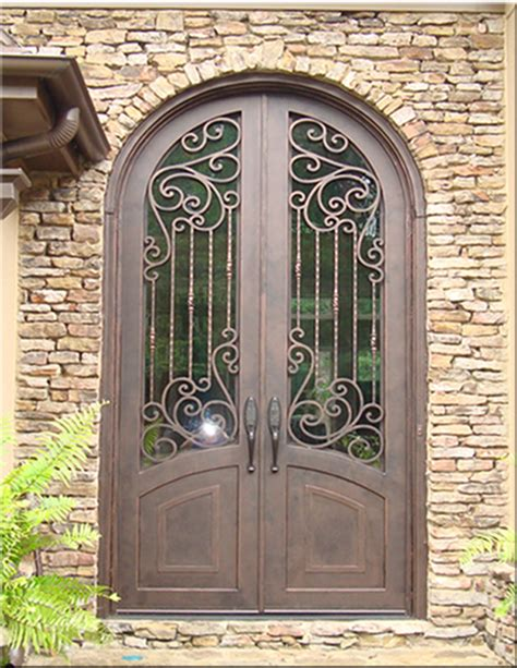 custom wrought iron doors tuscan iron entries