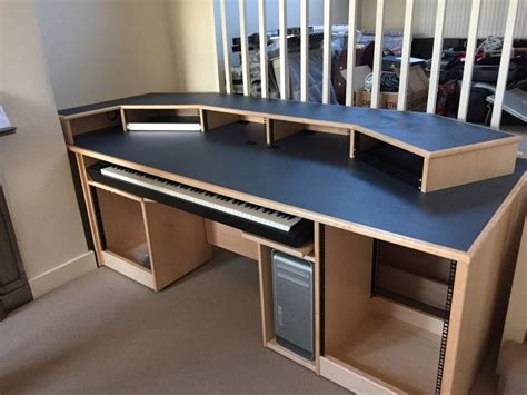 recording studio desk plans 1000 images about daw desk on pinterest desk plans