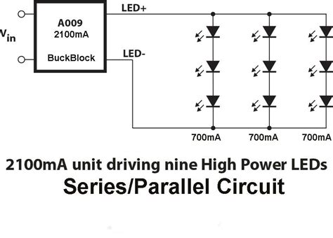 wiring leds correctly series parallel circuits