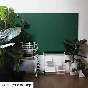 les 78 meilleures images du tableau idees couleurs deco With couleur mur bureau maison 9 inspirations deco en vert fonce joli place