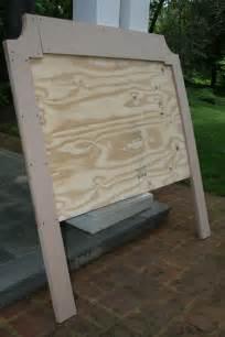 DIY Upholstered Headboard Bed
